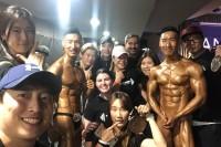Teambros 팀브로스 ANB 호주 보디빌딩 대회 참가